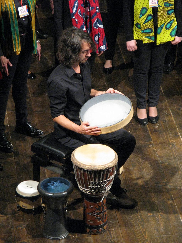 """Performance con Coro """"Vox Nova"""" e """"S. Maria"""", """"Cori in Festa"""", Teatro Arrigoni, San Vito al Tagliamento (PN)"""